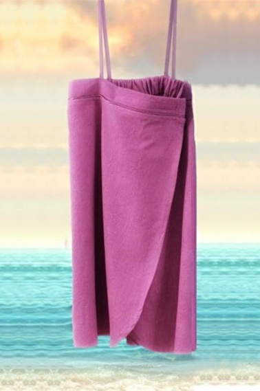 İrya Plaj Eteği Renkli